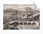 General view of Belfast, Northern Ireland by English School
