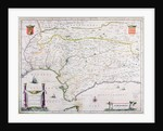 Map of Andalusia, Spain by Spanish School