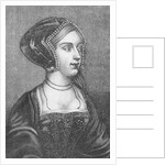Anne Boleyn Second Wife of Henry VIII of England by Hans Holbein The Younger