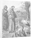 St. Francis of Assisi by English School