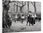 King Charles I on the Way to his Execution by English School