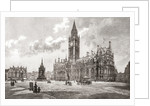 Town Hall, Albert Square, Manchester, England in the 19th century by Anonymous