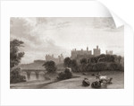 Alnwick Castle, Alnwick, Northumberland, England, in the early 19th century by Anonymous
