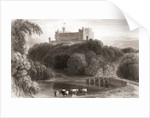 19th century view of Belvoir Castle Leicestershire, England by Anonymous