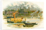 Tower of London in the 19th century by Charles Wilkinson