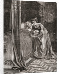 Alice Ferrers at the deathbed of Edward III by Anonymous
