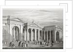 The Bank of Ireland, Dublin by William Henry Bartlett
