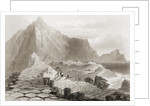 The Giant's Causeway, County Antrim, Ireland by William Henry Bartlett