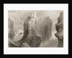 Dunseverick Castle, County Antrim, Northern Ireland by William Henry Bartlett