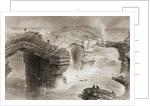 Natural Bridges near Kilkee, County Clare, Ireland by William Henry Bartlett