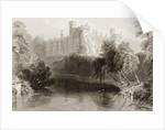 Kilkenny Castle, County Kilkenny, Ireland by William Henry Bartlett