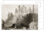 The Rock of Cashel, County Tipperary, Ireland by William Henry Bartlett