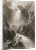 Head of the Devil's Glen, County Wicklow, Ireland by William Henry Bartlett