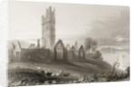 Moyne Abbey, County Mayo, Ireland by William Henry Bartlett