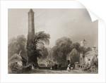Clondalkin, County Dublin, Ireland by William Henry Bartlett
