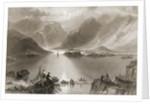 Killary Harbour, County Mayo, Ireland by William Henry Bartlett