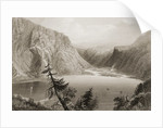 Luggela Lake, County Wicklow by William Henry Bartlett