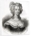 Portrait of Marie-Antoinette by English School