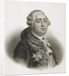 Portrait of Louis XVI King of France by English School