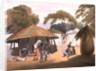African Village, published 1806 by W. Alexander