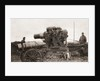 An Austrian giant siege-howitzer and its shell, used during World War One by English Photographer