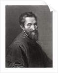 Michelangelo Buonarroti by English School