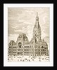 The City Hall, Chicago, c.1870 by English School