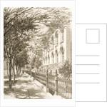 Wabash Avenue, Chicago, in c.1870 by English School