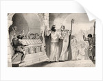 Clovis II (635-57) Selling Silver and Gold from the Shrine to Feed the Poor by French School