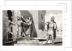 Charles III (879-929) the Simple taken prisoner by one of his soldiers by French School