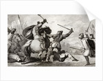 Louis VI the Large fights the English in the battle of Brenneville by French School