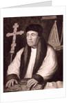 Portrait of William Warham by English School