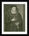Portrait of James Hamilton 2nd Earl of Arran by English School