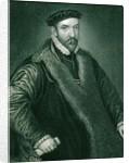 Portrait of Sir Nicholas Bacon by English School