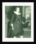 Portrait of James Hamilton 2nd Marquis of Hamilton by Daniel Mytens