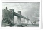 The Britannia Tubular Railway Bridge by English School