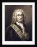 Robert Walpole 1st Earl of Orford by English School
