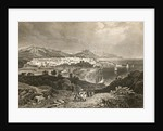 View of Barcelona, early 19th century by English School
