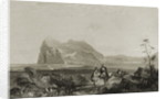 Gibraltar from the Lower Signal Tower by English School