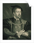 Charles V Holy Roman Emperor & King of Spain by English School