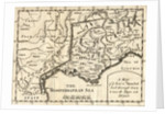 A Map of the Route Hannibal took through Gaul and over the Alps into Italy by English School