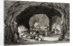 Gun Emplacements, St George's Hall, Gibraltar by English School