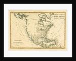 North America by Charles Marie Rigobert Bonne