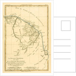 French Guyana, with part of Dutch Guyana by Charles Marie Rigobert Bonne