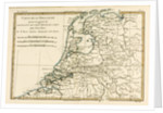 Holland Including the Seven United Provinces of the Low Countries by Charles Marie Rigobert Bonne