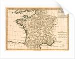 France by Regions by Charles Marie Rigobert Bonne