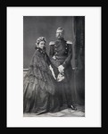 The Emperor and Empress Frederick of Germany by German Photographer