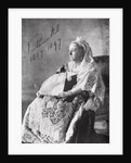 Queen Victoria The authorised Diamond Jubilee photograph by English Photographer