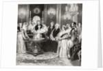 The Baptism of the Princess Royal by Charles Robert Leslie
