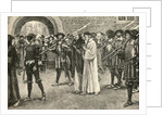 John Frith going to his martyrdom by English School